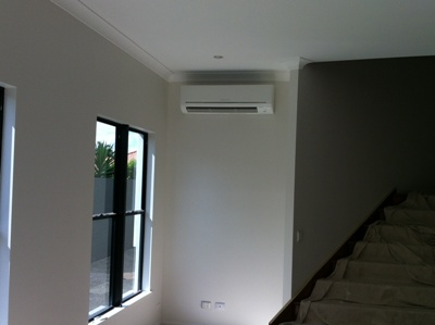 Mitsubishi Electric Split System in Living Area
