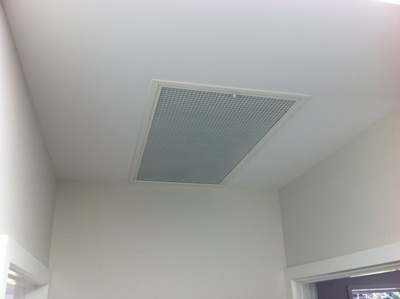 Choosing ducted air conditioning air supply diffusers