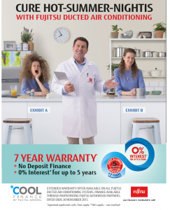 Fujitsu Oct 2018 Extended warranty and cool finance