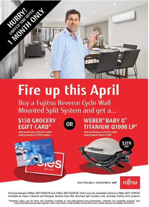 Fujitsu Fire Up This April 2018
