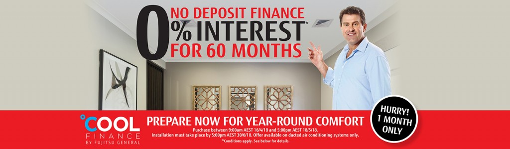 Fujitsu No Deposit Finance 0% Interest for 60 months